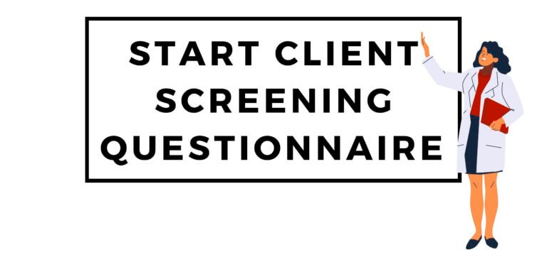 COVID-19 Client Screening Questionnaire