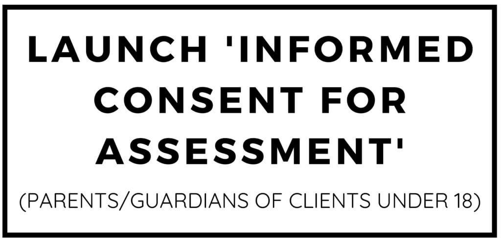 Informed Consent for Assessment
